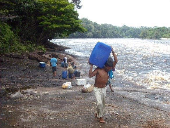 Cachoeiras do Içana.